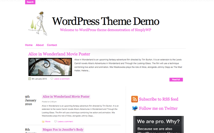 FesyenMag Magazine WordPress Themes