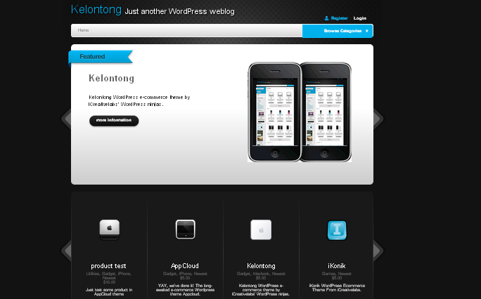 kelontong wordpress theme