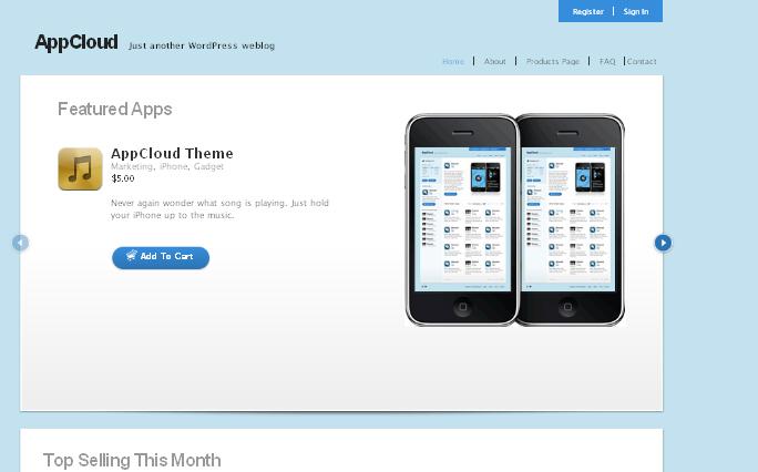AppCloud wordpress themes