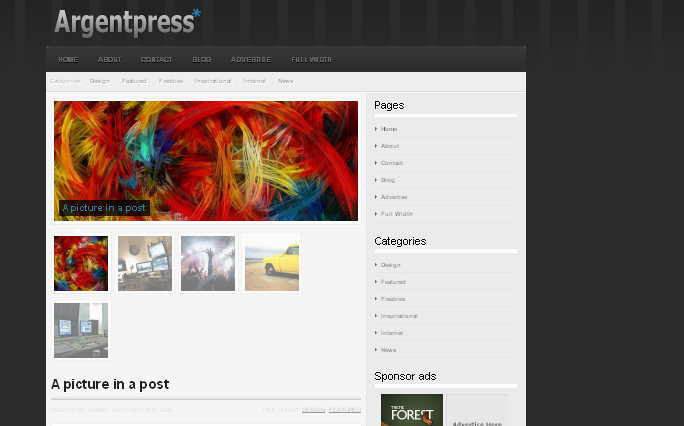 Argentpress wordpress themes