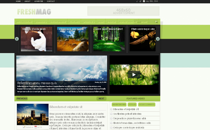 FreshMag wordpress theme