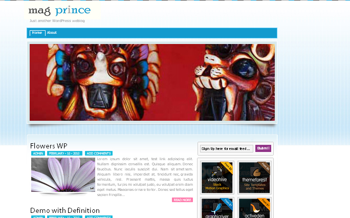 Mag Prince wordpress theme