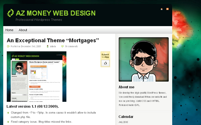 Mortgages  WordPress Themes