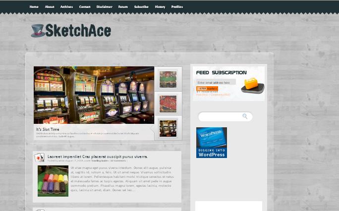 Sketch Ace,wordpress Themes