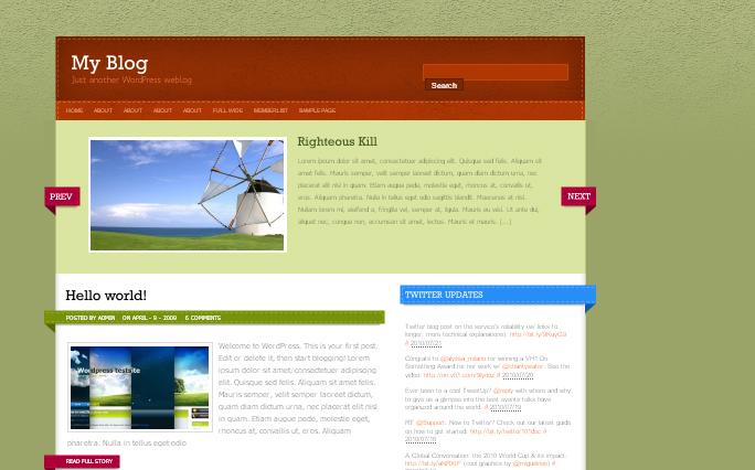 Stitchpress WordPress Themes