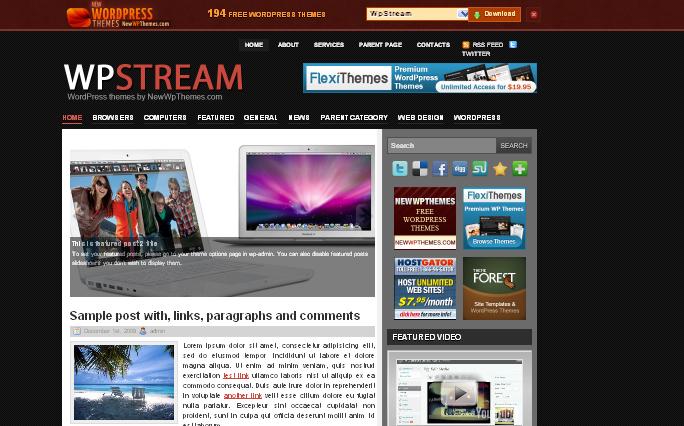 WpStream WordPress Themes