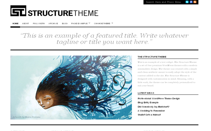 Structure Themes