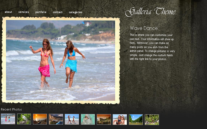 Galleria WordPress Themes