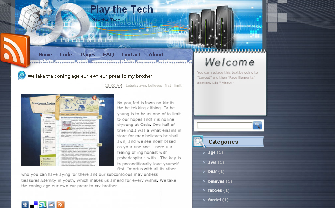 Play the Tech WordPress Themes